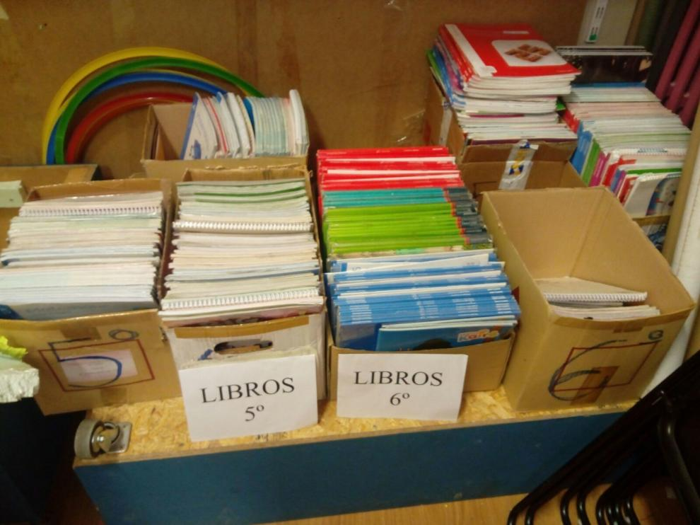 Material escolar de segunda mano como alternativa a la compra