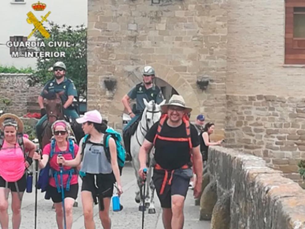 La Guardia Civil amplía a todas la rutas jacobeas la protección a peregrinos
