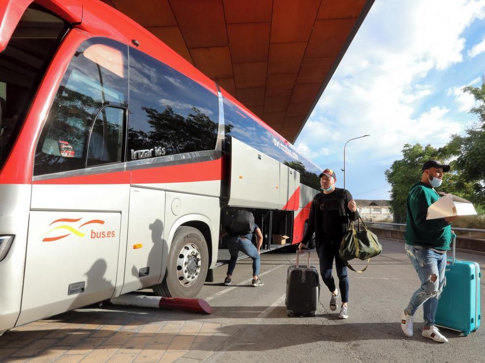 Caída de viajeros de más del 60 % en los autobuses