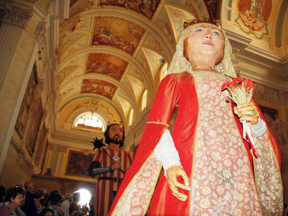En Sena descansa la reina doña Sancha
