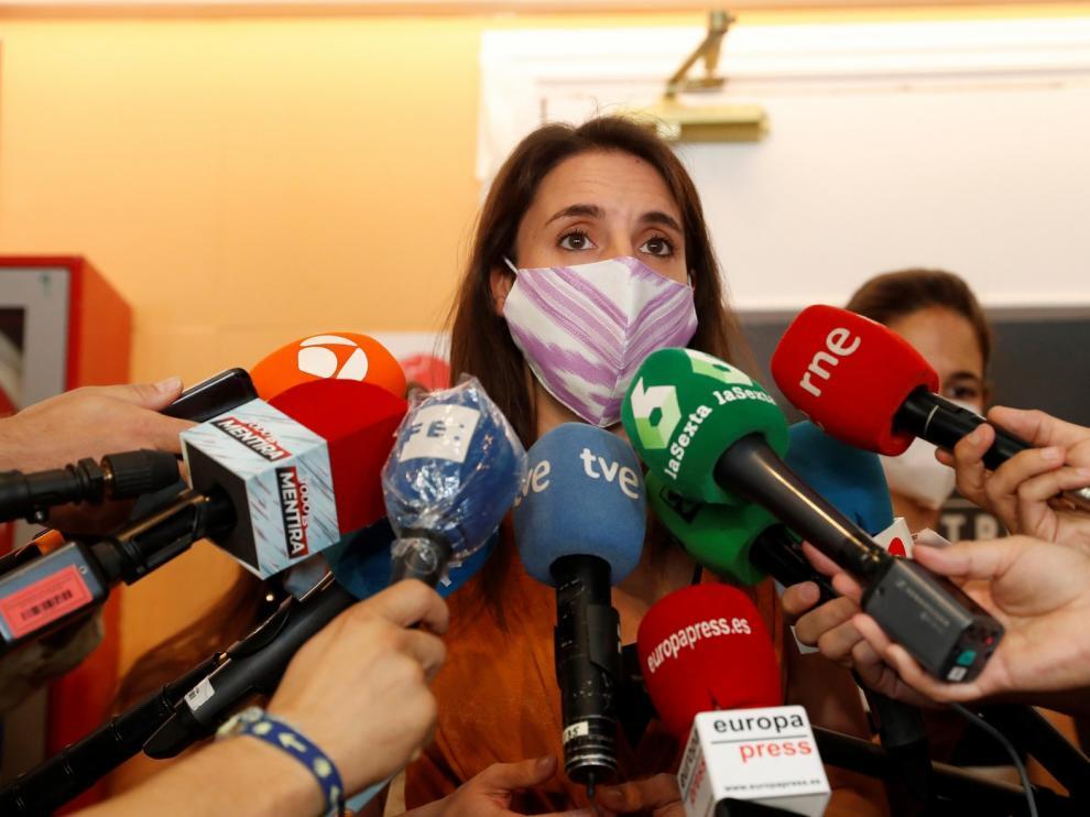 Irene Montero duda de que el PP logre apoyos para investigar a Podemos