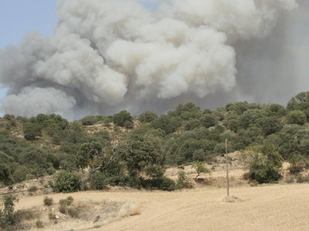 UGT reclama más presupuesto y medios contra los incendios