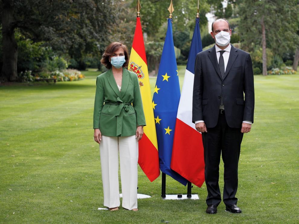 Carmen Calvo visita al gobierno francés y comparte posiciones
