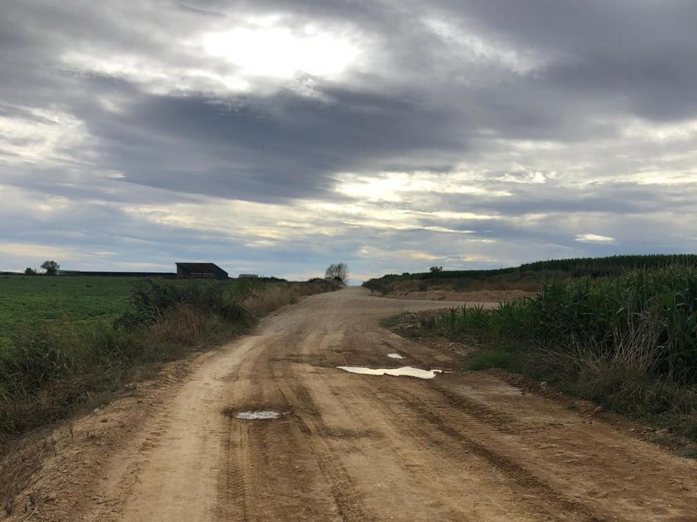 La Diputación mejorará el camino vecinal que une Albero Bajo y Sangarrén