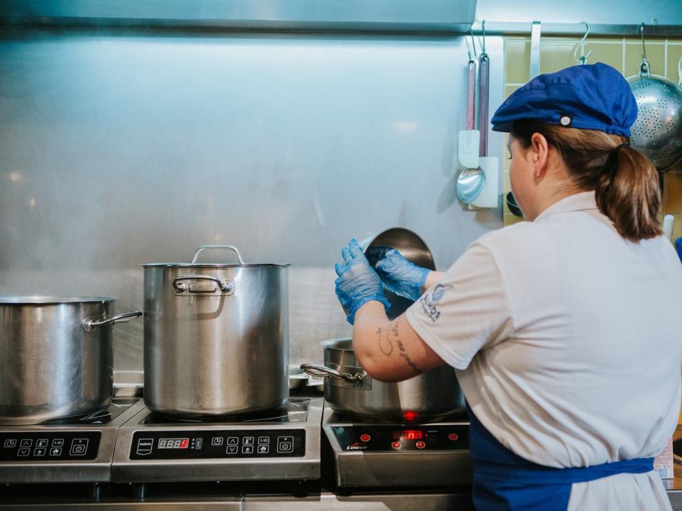 Empresas oscenses contratan a personas que se encuentran en riesgo de exclusión