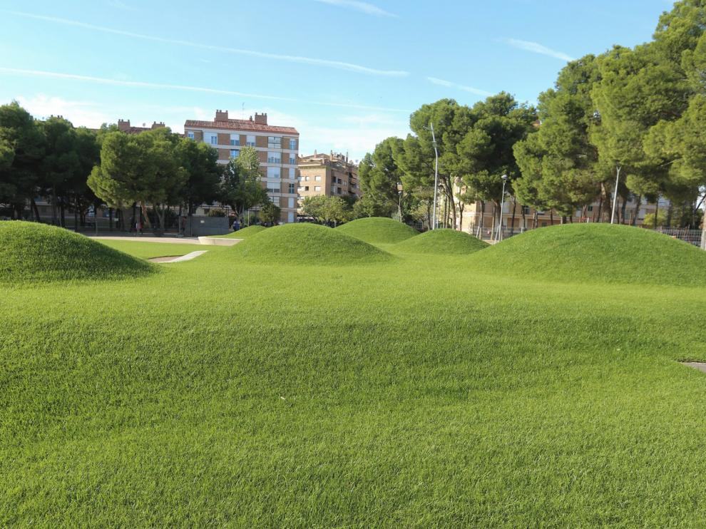 El Consistorio licita la segunda fase del Parque de San Martín de Huesca