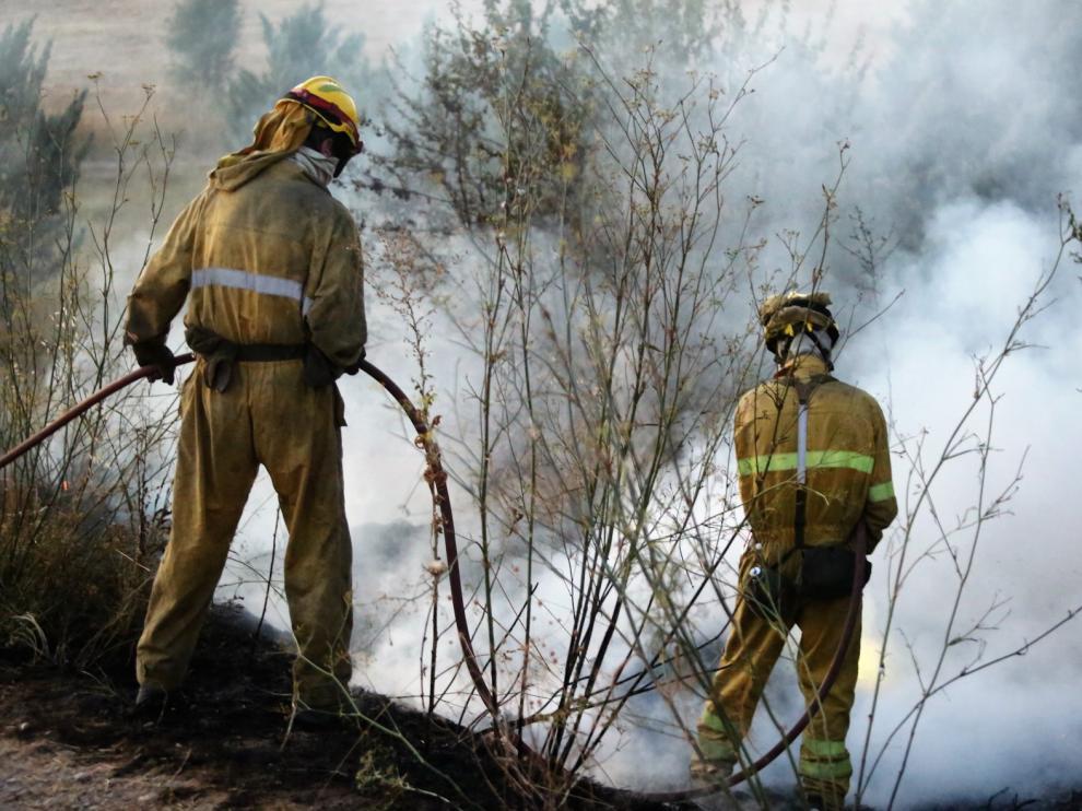 Incendio en Loma Verde