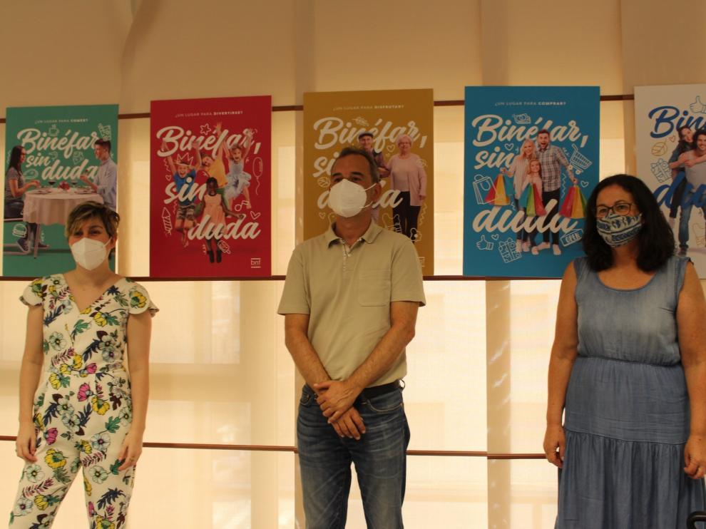 """""""Binéfar, sin duda"""", campaña de promoción promovida por el Ayuntamiento para animar la población"""