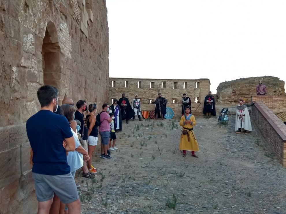 Éxito de la vuelta a la actividad en el Castillo de Monzón
