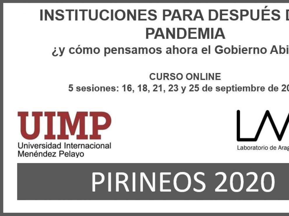 El LAAAB y la Menéndez Pelayo impartirán un curso sobre innovación social e instituciones post-pandemia