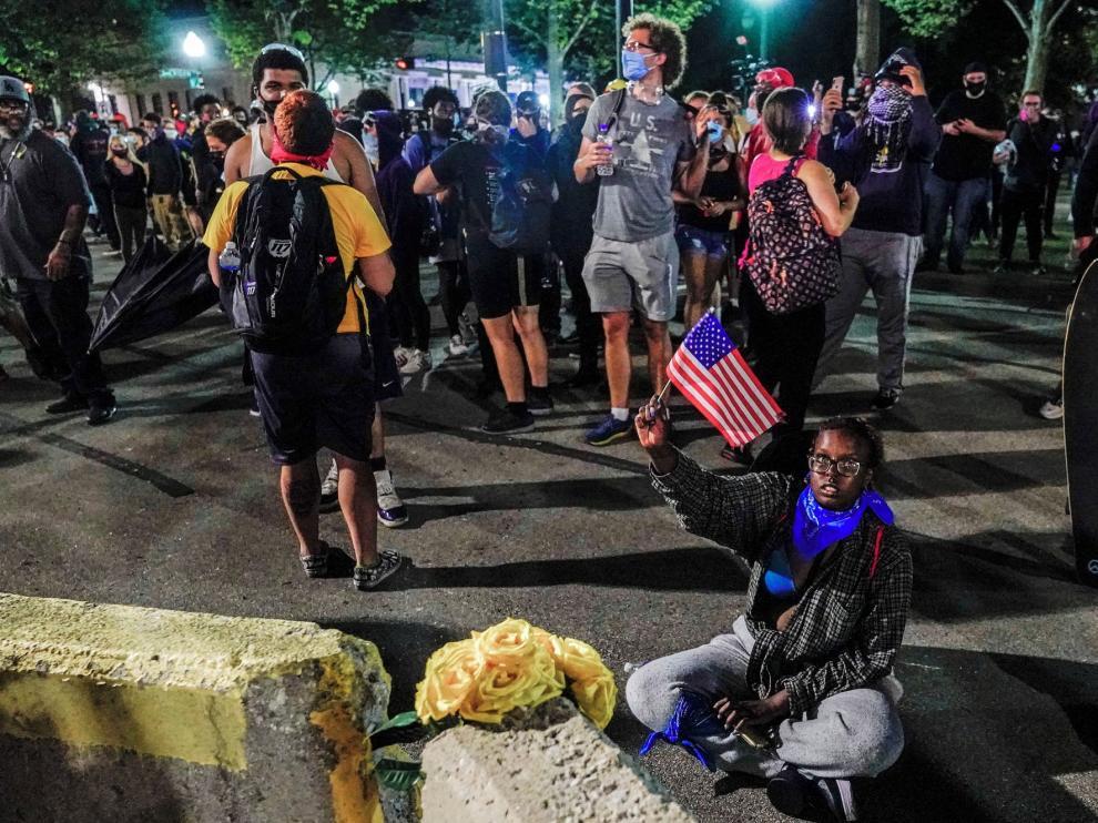 Las protestas raciales dejan dos fallecidos en Estados Unidos