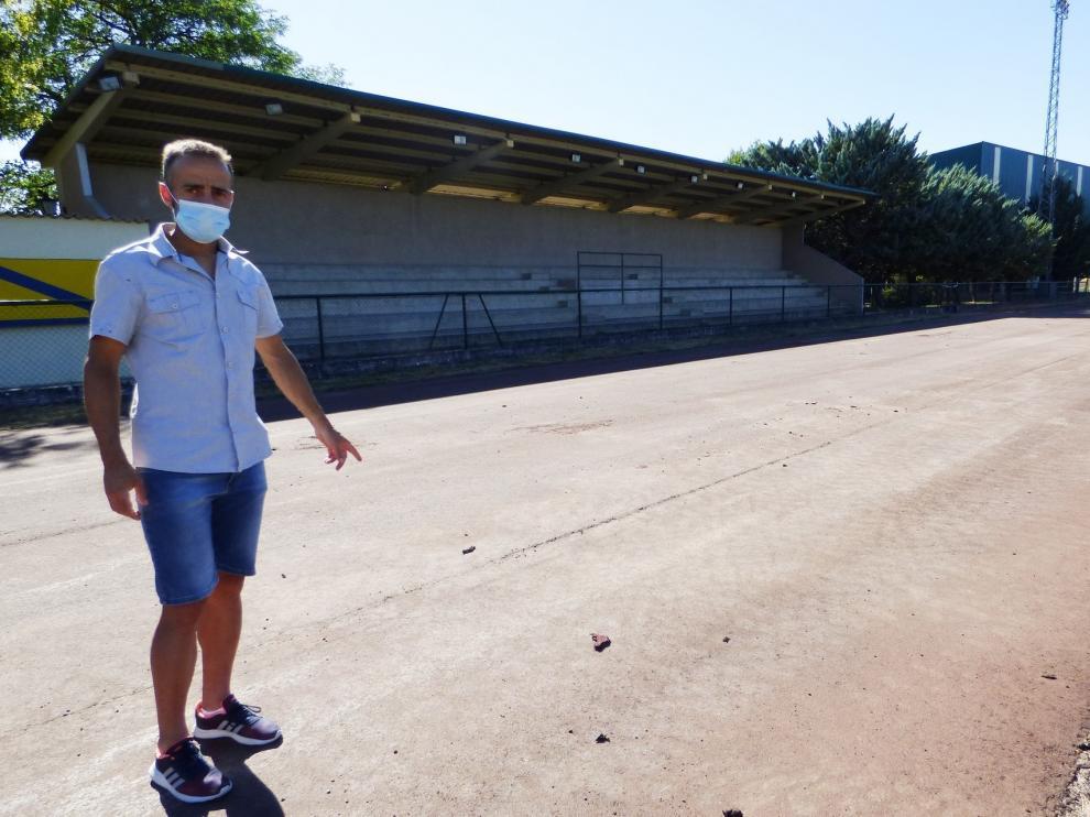 Las obras en las pistas de Sabiñánigo estarán terminadas en octubre