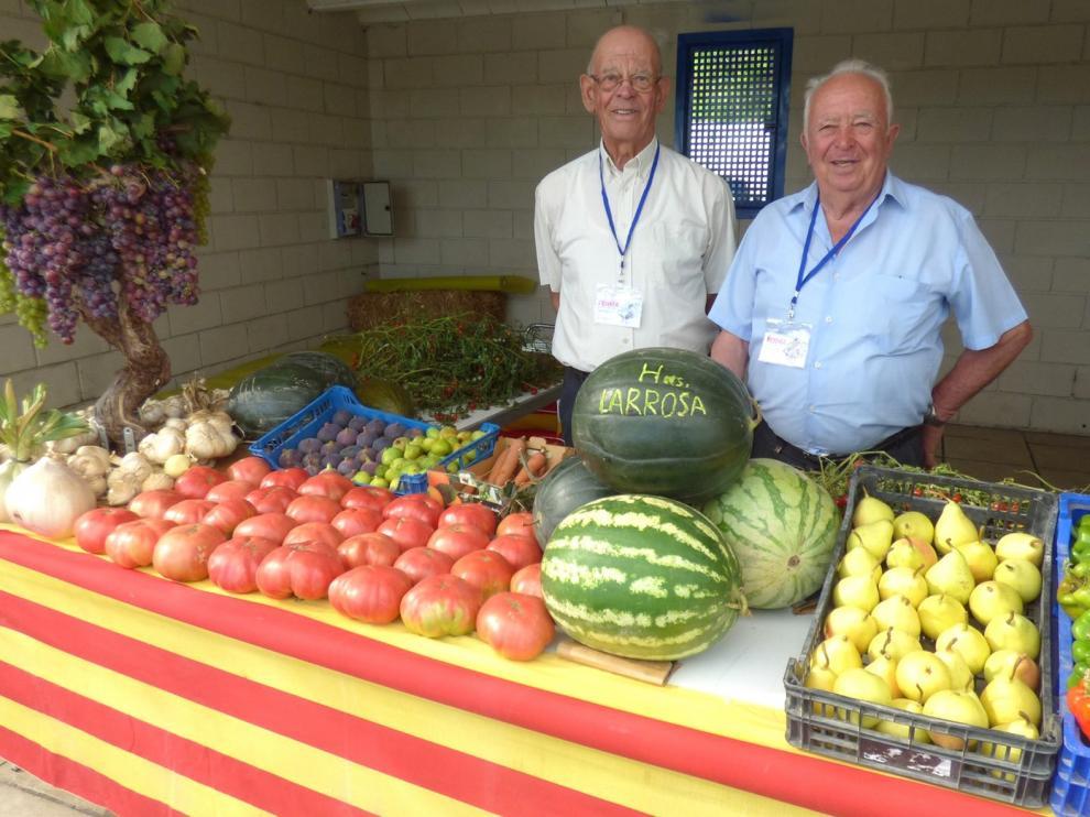 La muestra hortofrutícola de Barbastro ya cumple 20 años