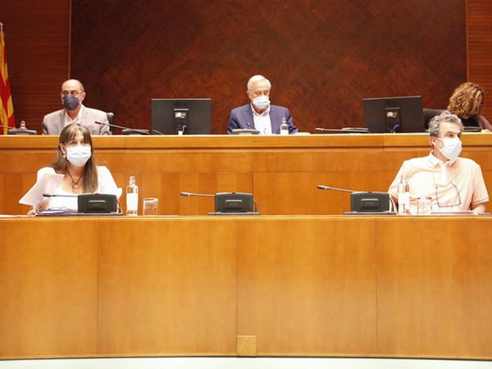El Colegio de Periodistas y las Cortes de Aragón acuerdan medidas para garantizar la cobertura de la actividad parlamentaria