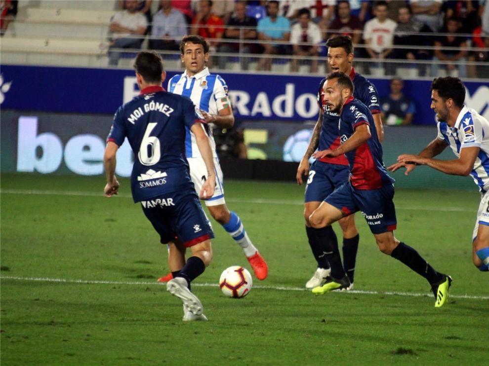 El Huesca jugará el sábado ante la Real Sociedad en San Sebastián