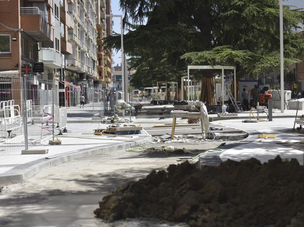 Corte al tráfico rodado en el Paseo Ramón y Cajal de Huesca el próximo día 4 de septiembre