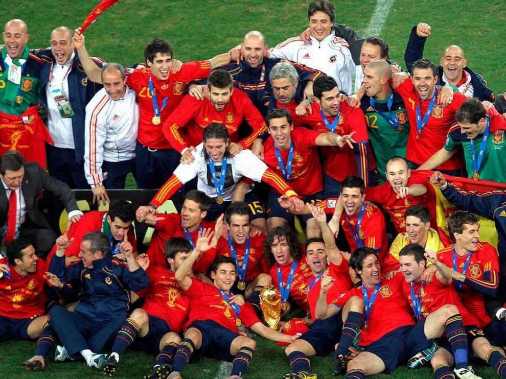 La selección española cumple cien años de su primera aparición