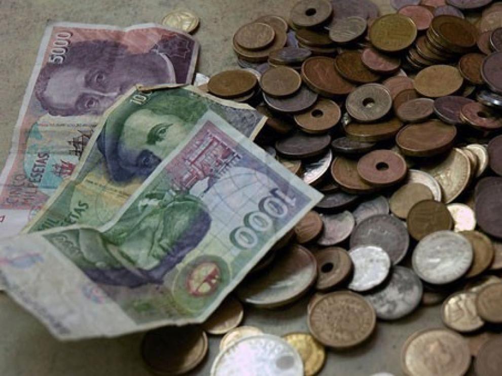 Recogida de antiguas pesetas para ayudar al Banco de Alimentos de Jaca