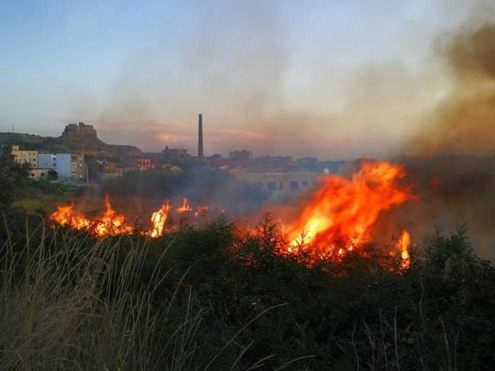 Monzón sufre su segundo incendio en menos de dos días
