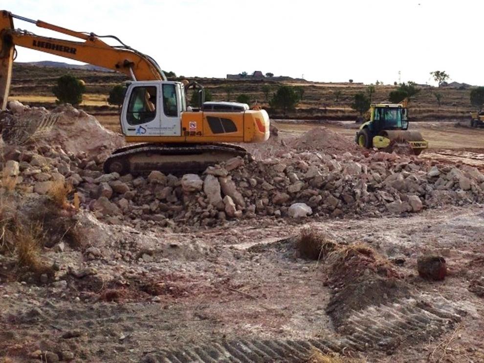 Comienzan los trabajos de ampliación del Parque Dinópolis en Teruel
