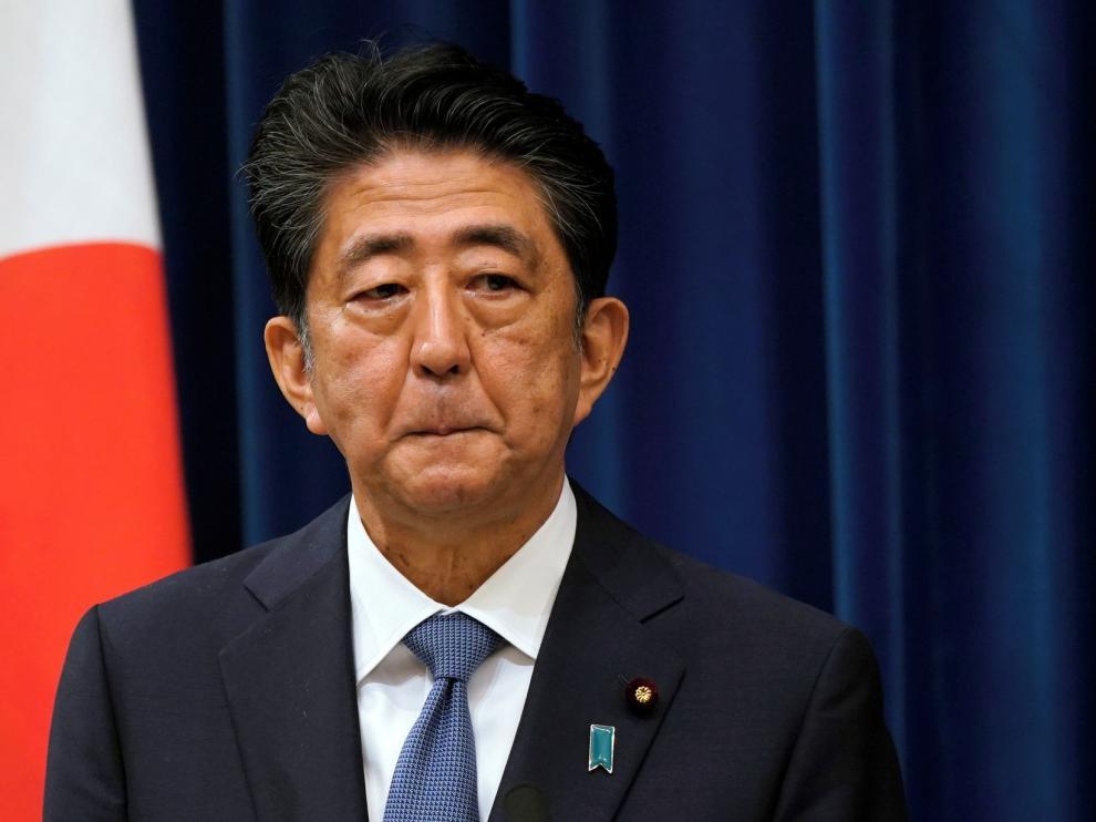 Abe renuncia como primer ministro de Japón