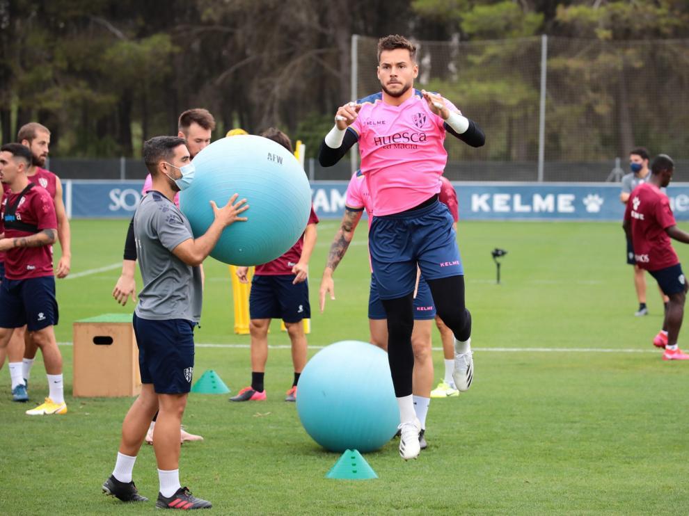 El Huesca viaja a Zubieta para medirse a la Real Sociedad