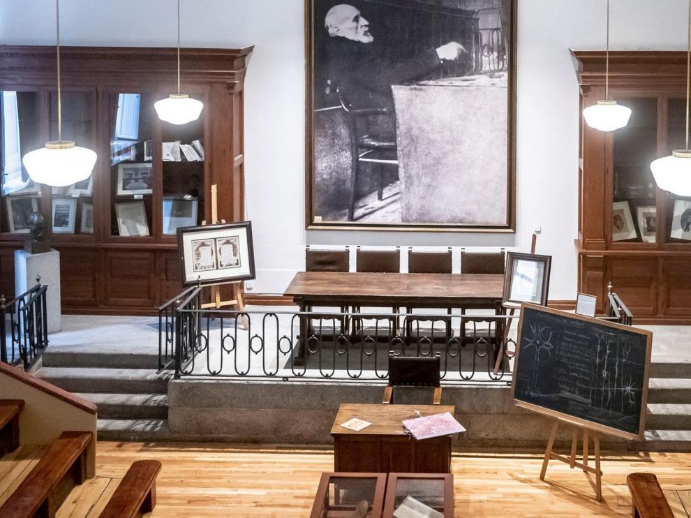 La burocracia frena el museo de Ramón y Cajal en Madrid