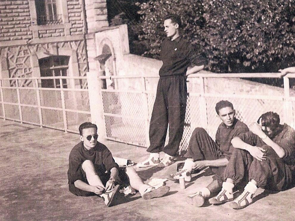 Setenta años de la gesta nacional de unos muchachos del baloncesto de Huesca