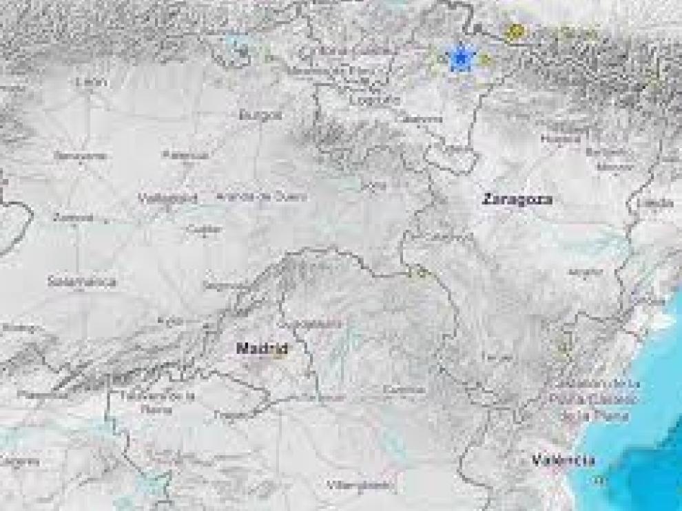 Navarra sufre un terremoto que se ha sentido como un trueno y un fuerte temblor