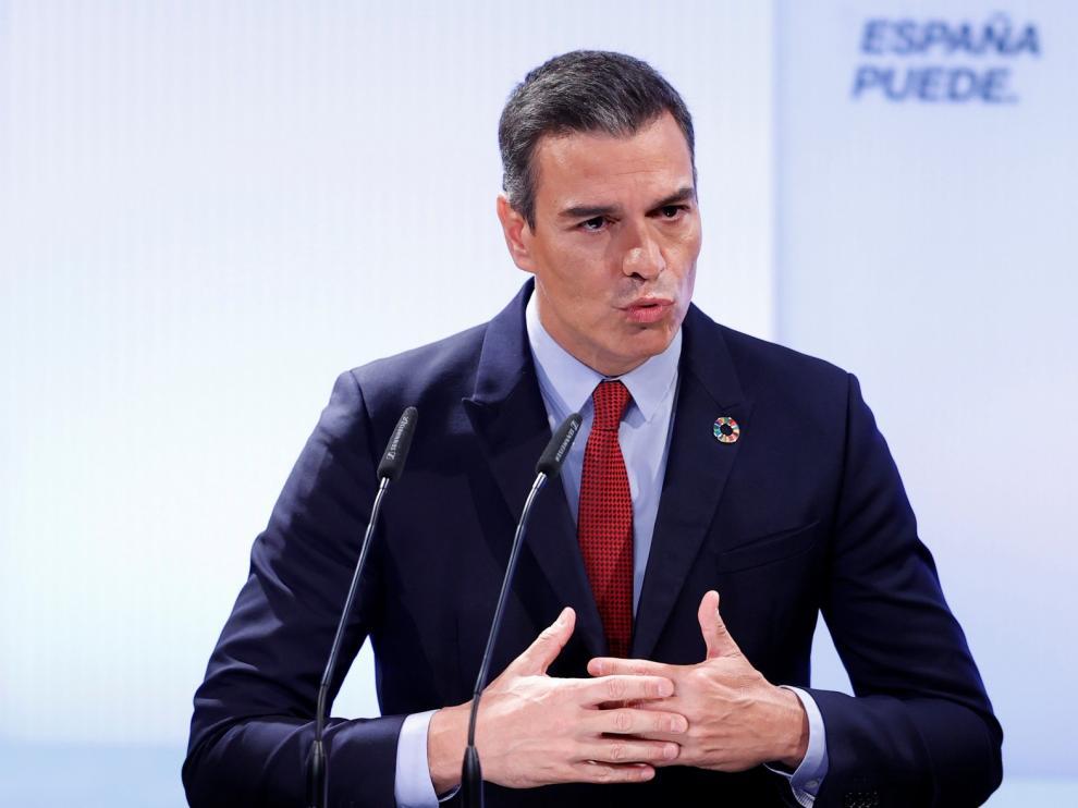 Sánchez asegura que el Plan de Recuperación impulsará el crecimiento del PIB más del 2% en diez años