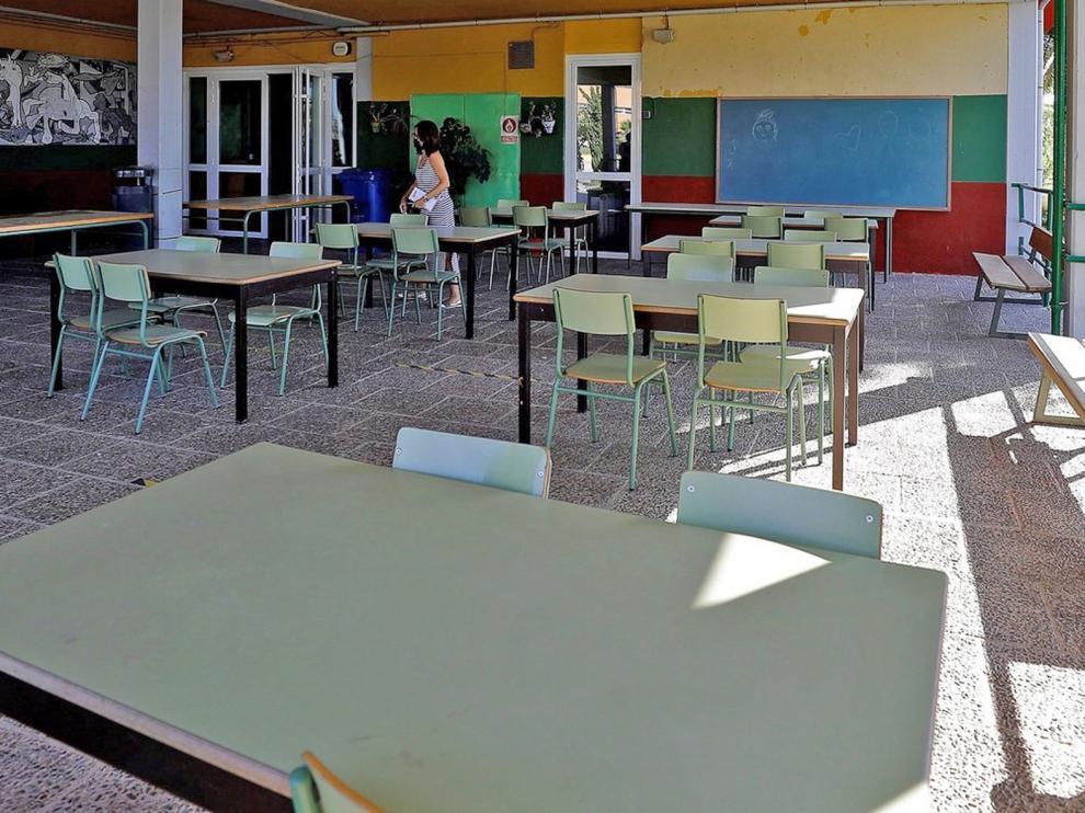 Salud Pública cierra ocho aulas de seis centros educativos de la provincia de Huesca por casos de covid