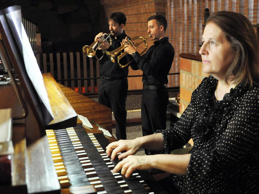 Lasarte, Aranzábal y Guarné conquistan con su música Torreciudad