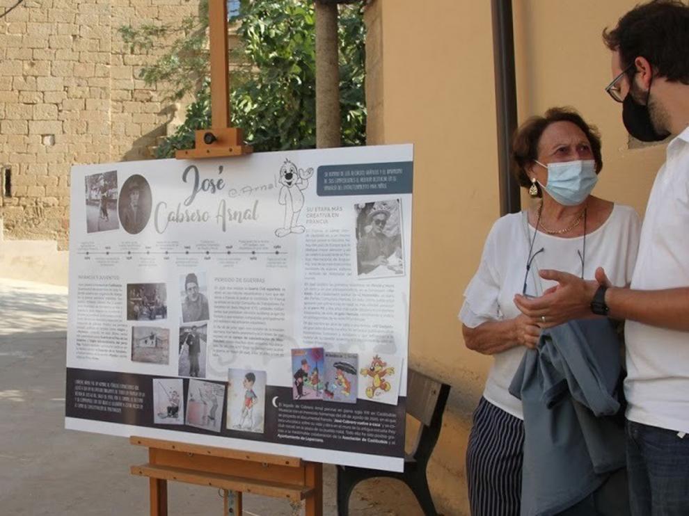 Castilsabás descubre una placa en honor del gran José Cabrero Arnal