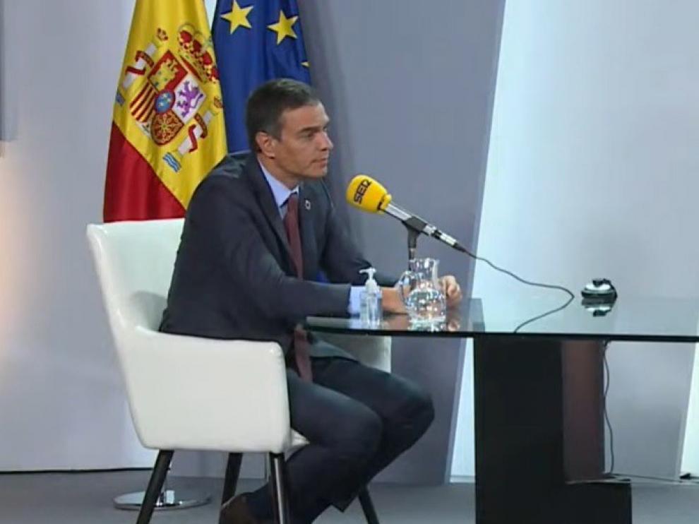Pedro Sánchez dice que Podemos asume que no puede haber exclusiones en presupuestos