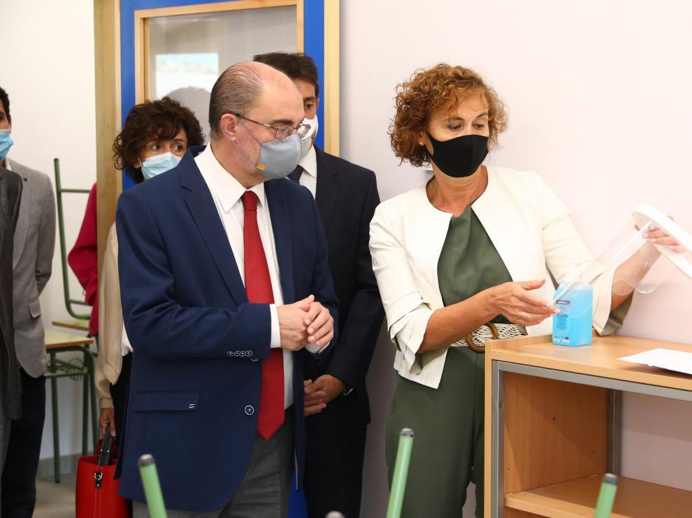 Inaugurada la ampliación del colegio de Aínsa, con una inversión de 700.000 euros
