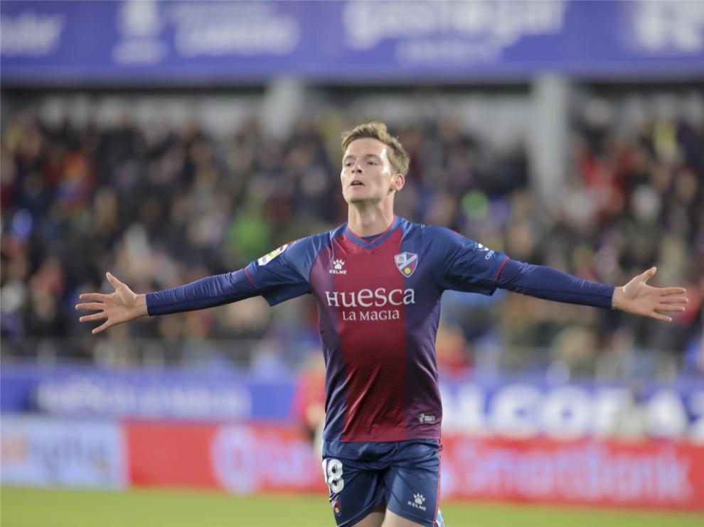 Sergio Gómez vuelve al Huesca