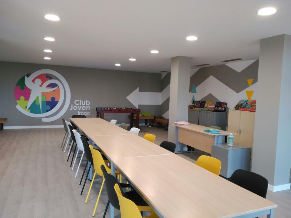 El Ayuntamiento de Fraga traslada la Casa de la Juventud al local del Club Joven