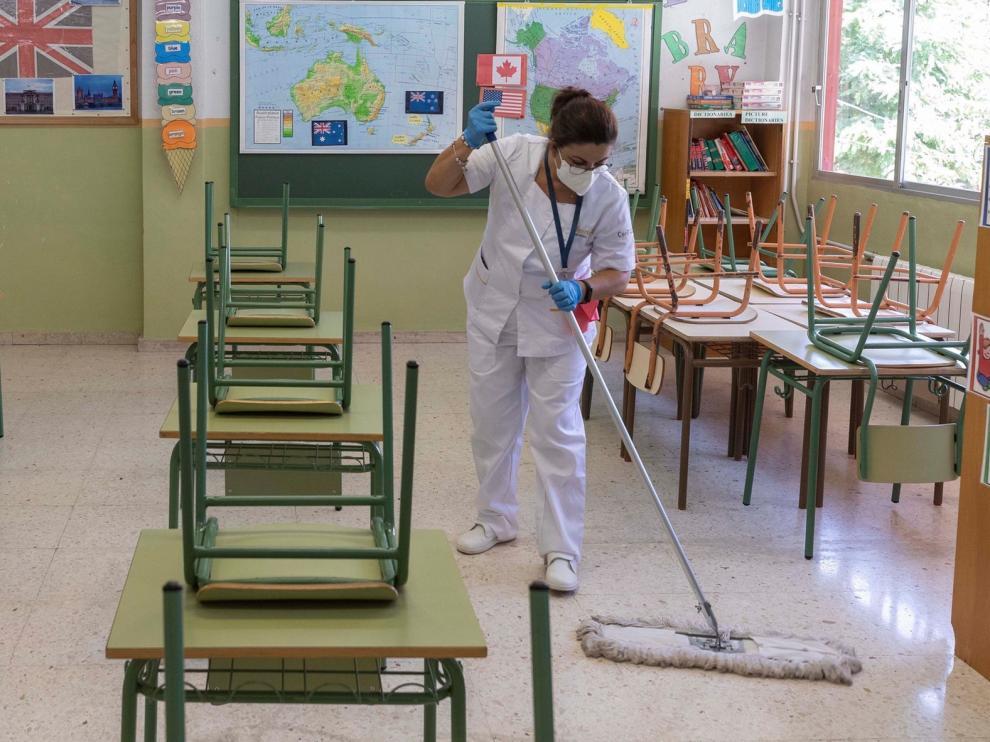 ¿Cuál es el protocolo a seguir en los colegios ante la covid?