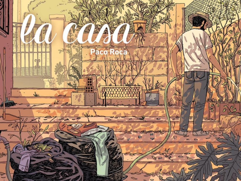 """Paco Roca recibe una nominación a los premios Harvey por """"La Casa"""""""