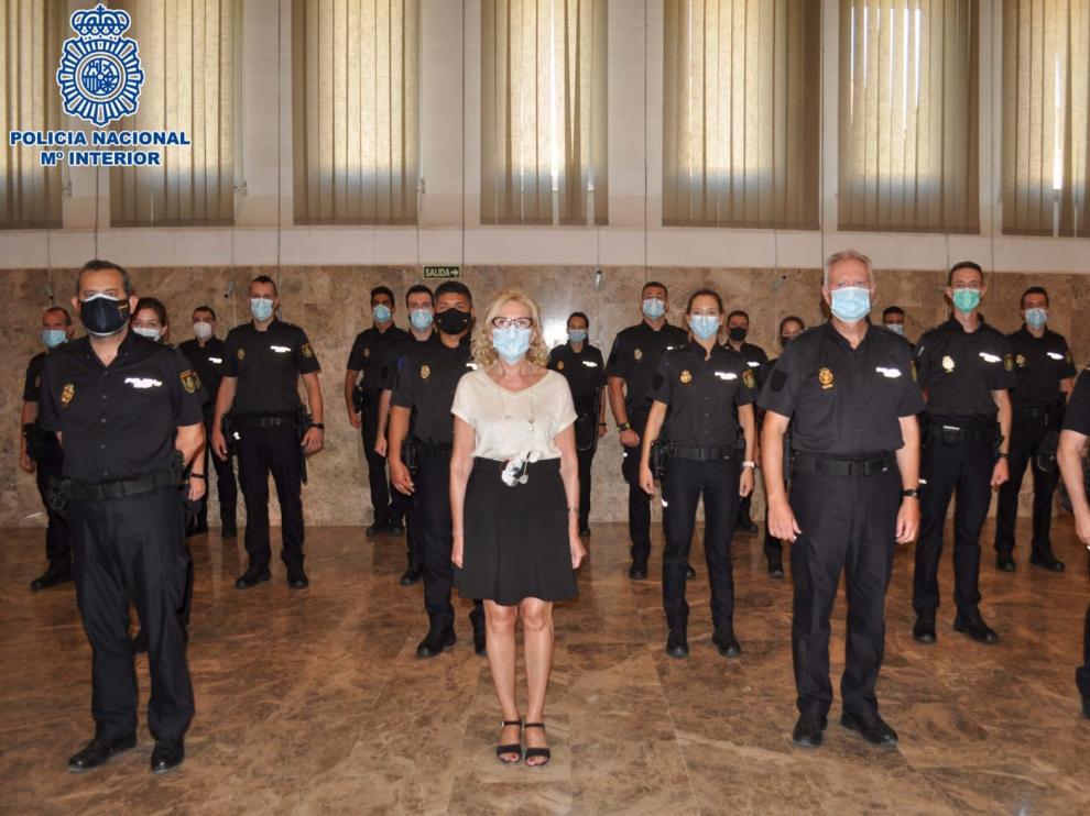 Se incorporan 52 agentes a la plantilla de la Policía Nacional en Huesca