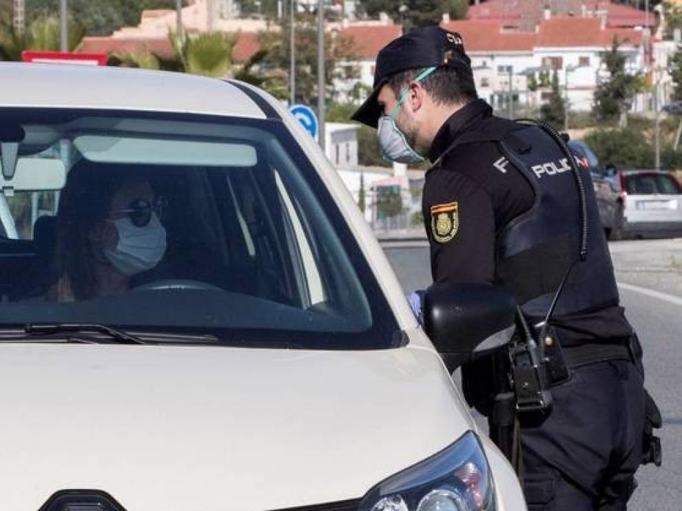 Las Fuerzas de Seguridad detuvieron en Huesca a 15 personas por saltarse el estado de alarma
