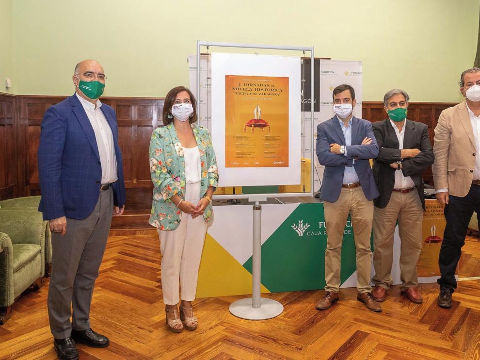 La novela histórica será protagonista en Zaragoza