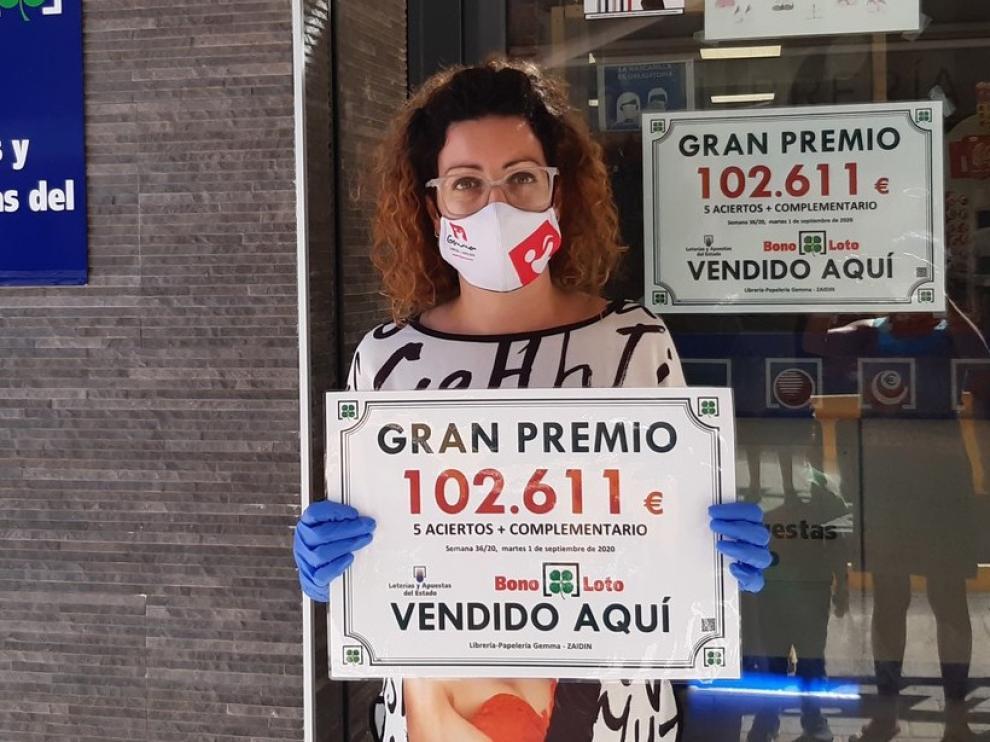 Sellan en Zaidín una bonoloto premiada con 102.611 euros