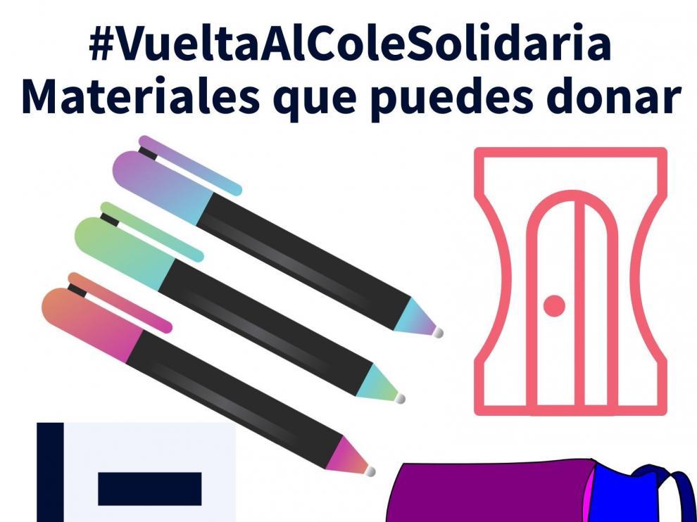 """Fundación Solidaridad Carrefour y Cruz Roja ponen en marcha la """"Vuelta al Cole Solidaria"""" en Huesca y Jaca"""