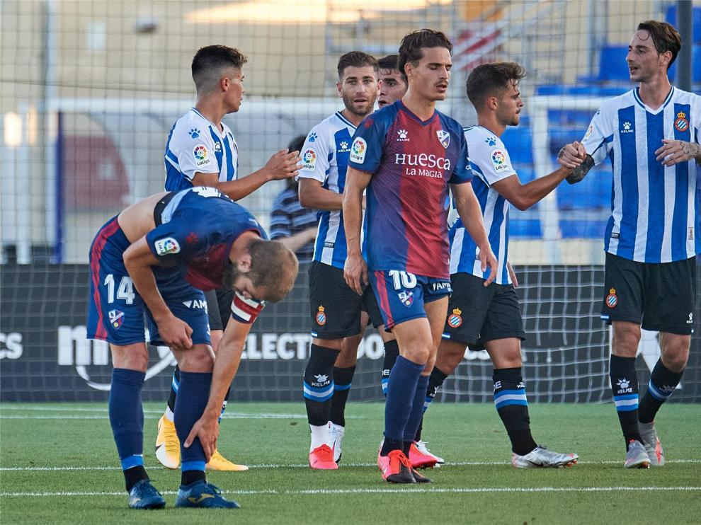 El Huesca recibe al Sabadell en el último test de la pretemporada