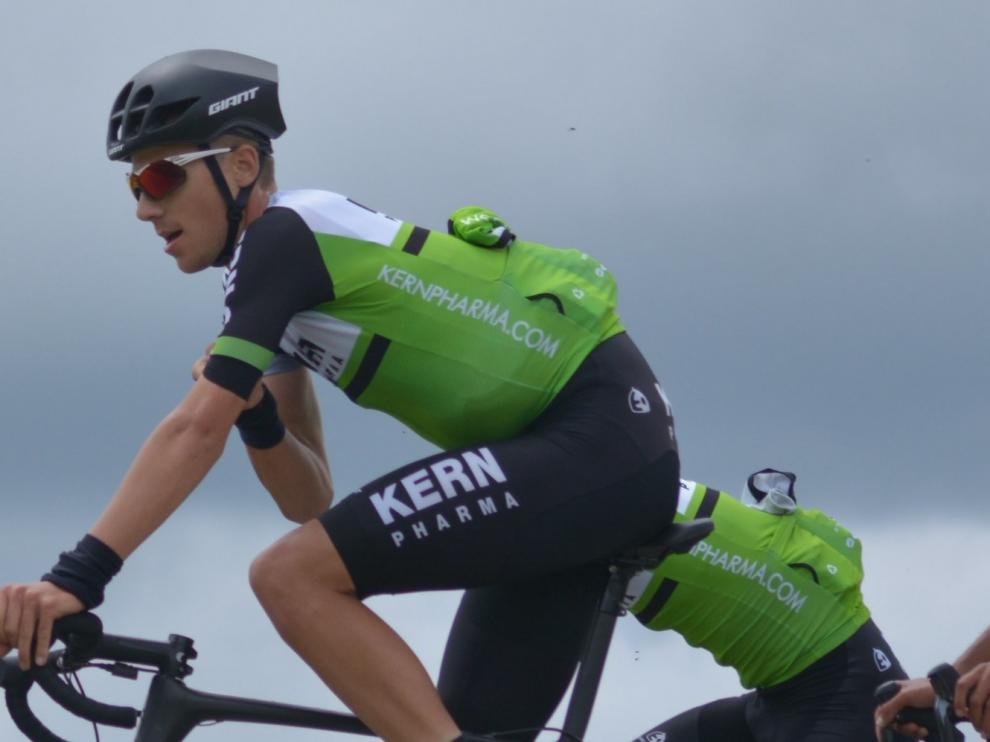 Castrillo acaba segundo en la Vuelta a Serbia