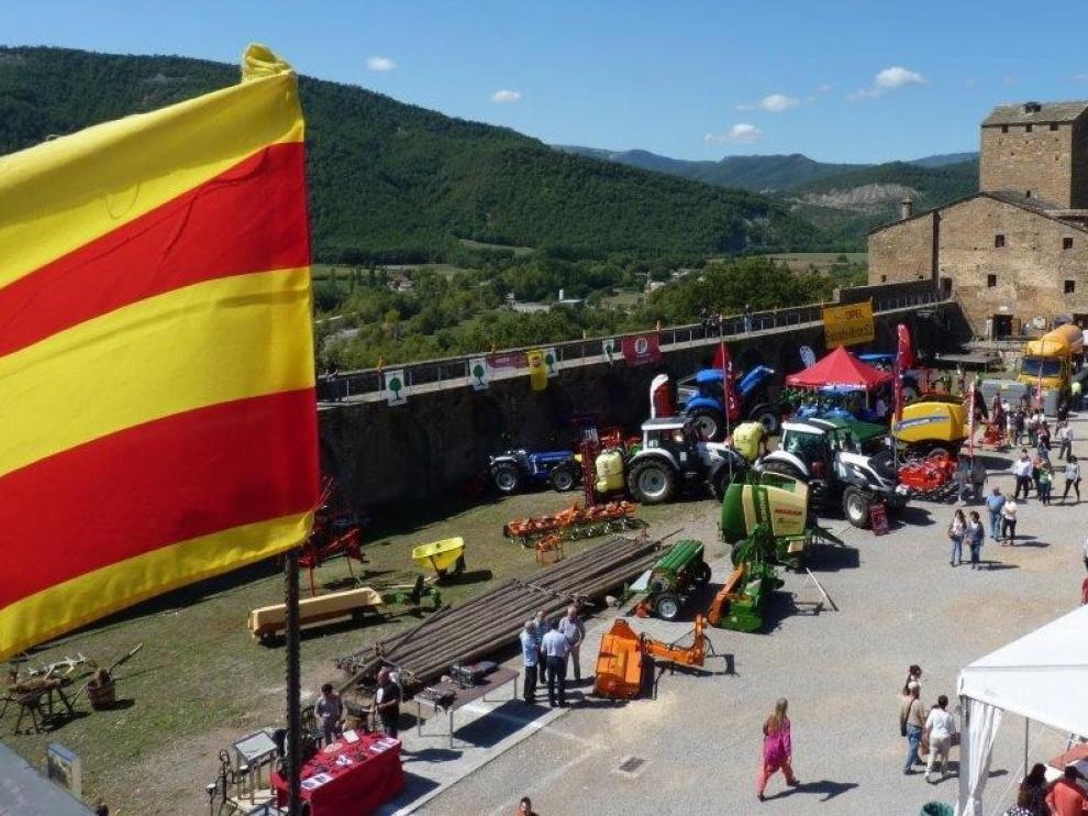 La Expoferia de Sobrarbe celebra 35 años arraigada al territorio