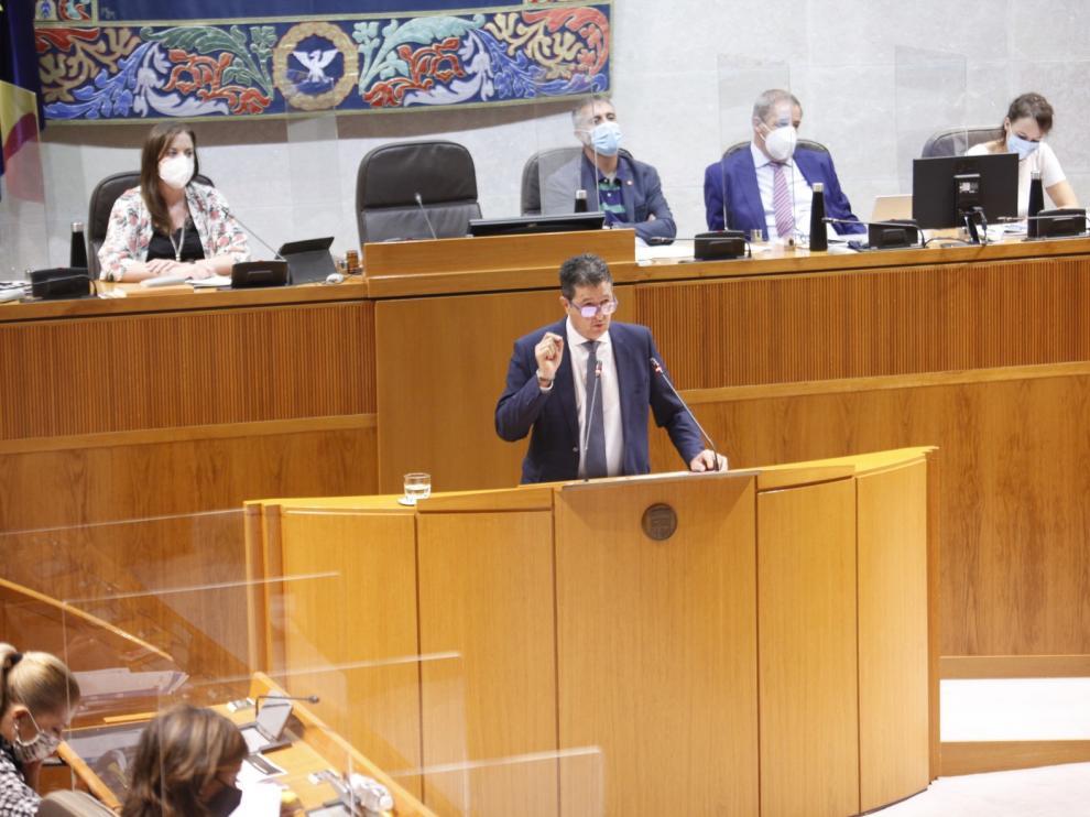 El PP pide a Olona no plegarse a Podemos en la gestión forestal