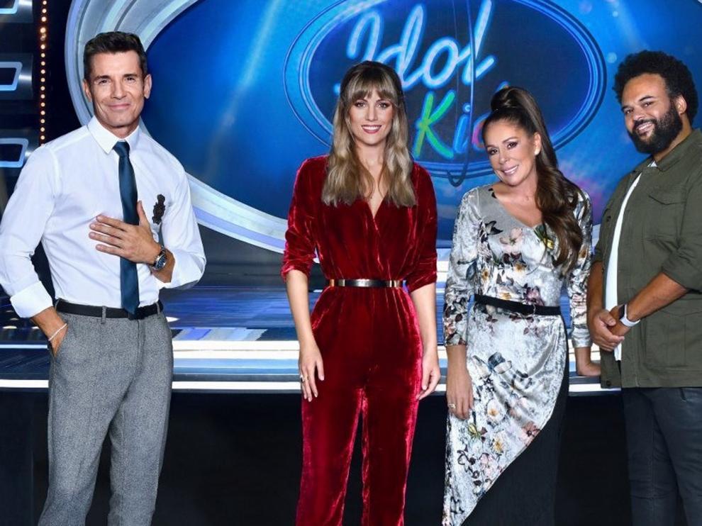 """""""Idol Kids"""" llega este lunes a Telecinco de la mano de Isabel Pantoja"""