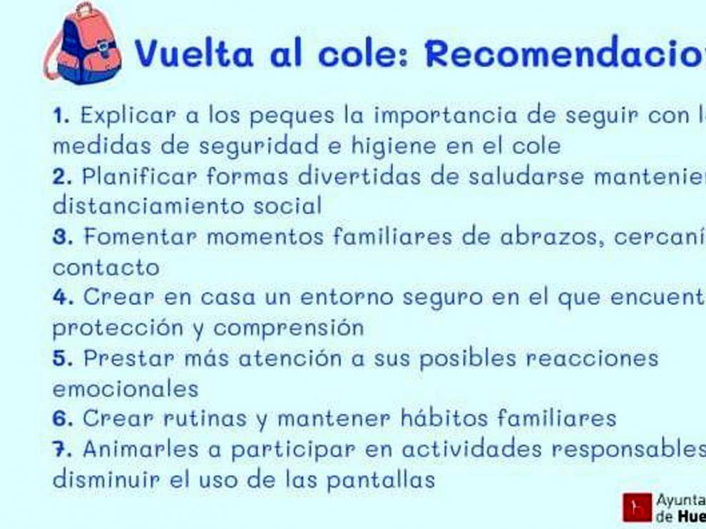 Recomendaciones para la gestión psicológica del regreso a las aulas